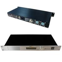 New CZE-T501 adj. 0~50W 1U FM Transmitter RDS PLL Stereo Radio Broadcast ON0089