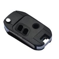 Uncut Flip Folding Remote Key Shell Case For Subaru Legacy Outback 3BT  OT0320