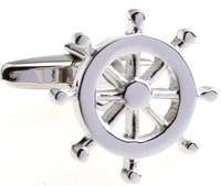 Rudder-shaped Cufflinks , Men's cufflinks  AS-64