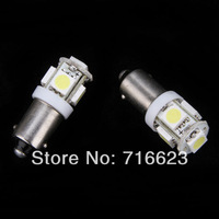 10X T11 BA9S White 5050 SMD 5 LED Car Light Bulb Lamp 12V 1895 57 T4W 182 1445 6253 H6W 53 Indicator License Plate Map Dome