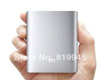 Free shipping Original Xiaomi Silver Power Bank 10400mAh