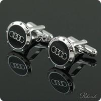 Audi Car Sign Shape Cufflinks  AS-69