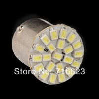 Free shipping 10pcs/lot  Car led lamp 1156 BA15S 22 LEDS 22SMD Leds light 3020/1206 SMD turn signal reverse light