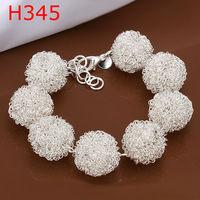 2014 New Design !925 Sterling Sliver Fashion charm Tennis Bracelet women jewelry,High quality H345