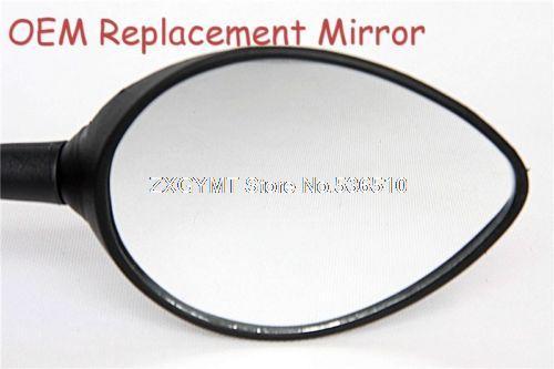 Substituição Preto Espelhos Para Ducati Monster 696 748 749 796 996 998 999 1098 Espelho(China (Mainland))