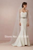 Layers 2T Ivory Chapel Length Bridal Accessories Huntu Schleier Cut Edge Wedding Veils