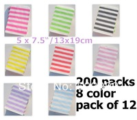 CANDY STRIPE PAPER SWEET GIFT PARTY BAGS CANDY BAGS Buffet Lolly Bar Wedding Paper Stripe Striped Party Favor Mix Gift Wrap NEW