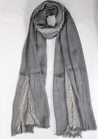 Free shipping C&A  fashion style spring autumn winter scarf Denim blue solid color dark grey long cotton scarves shawl men women