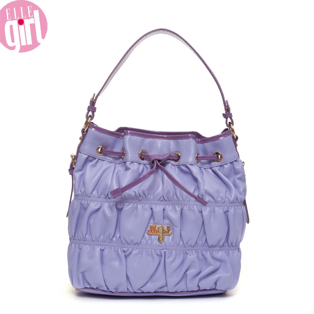 Ellegirl pink little girls handbag one shoulder bag g2074k26193 bucket ...
