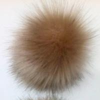 10cm faux fox fur ball hat accessories fox fur ball rabbit fur ball artificial fur