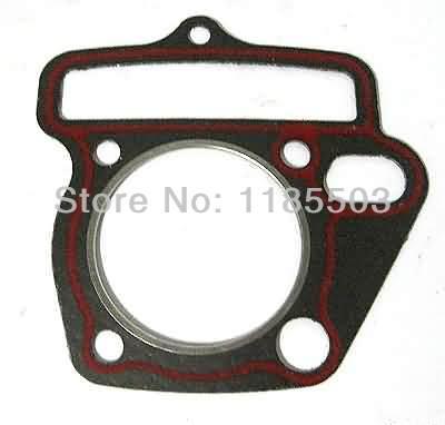 Lifan 125 horizontal pit bike engine cylinder head gasket(China (Mainland))