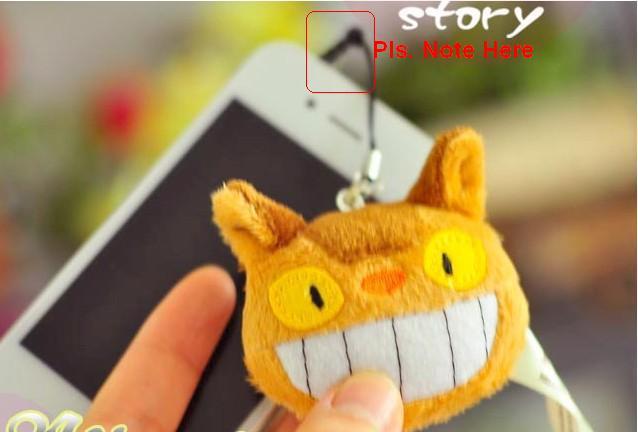 Free shipping 10pcs/lot Japan Anime TOTORO plush doll toy small plush phone pendant,keychain,wholesale(China (Mainland))