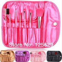 1 Set 7 Pieces Cosmetic Professional Makeup Brush Set Makeup Tools Lip Eyebrow Foundation Eye Shadow Eyelash Brushes For Makeup
