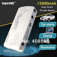 Free shipping,NEW EPOWER Multi-Function Jump Starter for 12V Car-15000mAh-Portable Emergency Battery ,SuperOBD