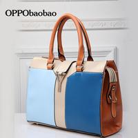 2014 Brand HK OPPO Versatile Bags For Women High Quality Fashion Zipper Shoulder Bag Handbags For Woman 7 Color