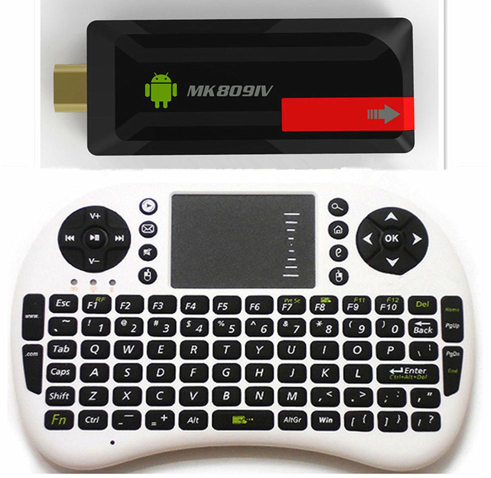 MK809IV Mini PC + Air mouse keyboard Quad Core TV Box RK