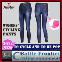 TASDAN 2014new womens dynamic elastic cycling Jean Legging pants/bicycle copy bull - puncher International Bicycle Championships