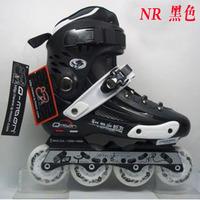 Free Shipping Adult rollerblading Men and women inline skating flat shoes Adult in-line skates roller skates