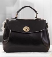Famous brand genuine leather women handbag Female Leather Bag Designer Handbags High Quality messenger bags Free shipping 1558