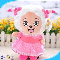 2014 best selling stuffed sheep toy , custom plush toy ,animal shape soft toy