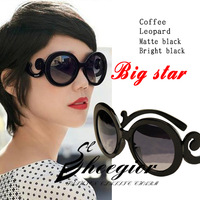 New 2014 Retro Inspired Butterfly Clouds Round Hot sale Women summer Sunglasses Free Shipping