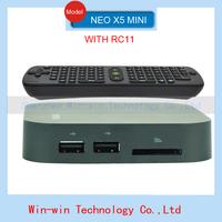 2014 MINIX NEO X5 MINI 8GB Flash RK3066 Dual Core Cortex A9 Set top box Wifi Bluetooth  Media player android TV Box With rc11