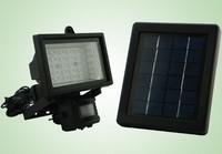 Solar Panel 60 LED Solar PIR Sensor Light Bright LED bulbs outdoor motion sensor lamp garden wall light