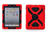 Hot Newest Pepkoo Extreme Military Heavy Duty Waterproof Shock/Drop Proof Case Cover for iPad Mini 2/1 with Kickstand/Sticker