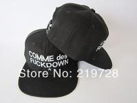 Free shipping 2014 New COMME DES FUCKDOWN Leopard Punk cheap cap hats for men women snapback hats baseball cap hip hop hat caps