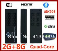 Mini PC MK908 RK3188 Quad Core Android 4.2 TV Box 2G RAM 8G ROM Bluetooth 4.0 HDMI Google TV