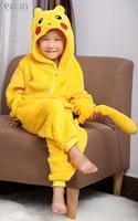 PIKACHU Children Unisex Cosplay Anime Animal Cartoon Costumes Onesies for Kids Pajamas Pyjama Fashion Sleepwear