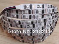 AAA 5M 16.4F IC chips WS2801 5050 32leds/m 160leds digital strip rgb led chip DC5V efect same as ws2812 ws2811 addressabel strip