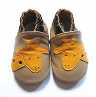 giraffe design boy design genuine leather baby  shoes
