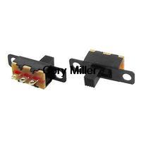 2 Position 1P2T SPDT Panel Mini Vertical Slide Switch Solder Lug SS-12F15G5