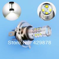 H4 80W Cree LED White cars Fog Head lights Bulb auto Lamp Vehicles Signal Tail parking car light source free shipping