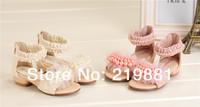 2014 Girls summer pearl sweet sandals , kids summer sandals , 5pcs/lot    ZYL02