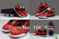 8 Colours New Model Air Retro 4 IV Got Em Laser Oreo Fear South Beach Men's Basketball Sport Footwear Sneaker Trainers Shoes