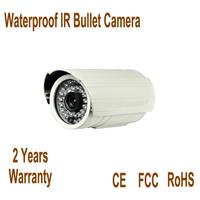 3.6mm lens high resolution infrared security bullet camera 700tvl sony ccd camera