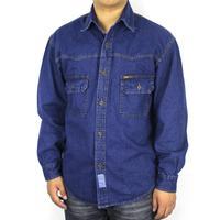 2014 NEW Arrival Men's Fit Slim Cowboy Shirts Long Sleeved Cotton Casual denim shirt Fashion Design Free Shipping