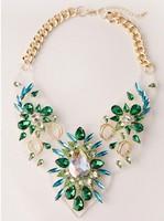2014 torques wholesale fashion necklaces & pendants chunky choker bib pendant Necklaces statement jewelry for women