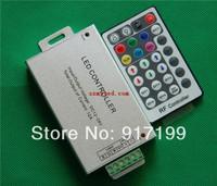 28 KEY RF Controller For RGB 5050 SMD LED Strip Light ,DC 12V-24V ,Aluminum Shell ,Load 20m ,Free Shipping
