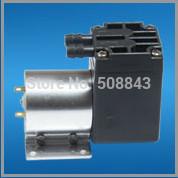 300kpa pressure 78kpa vacuum  6L/M electric diaphragm brush dc motor micro compressor
