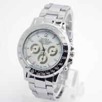 New Arrive Hot Sales Full Steel Business Watches Men Sports Quartz Analog wristwatches RO-52-2