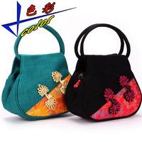 National trend small bags unique vintage women's handbag fashion canvas bag handbag women's