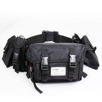 Outdoor waist pack waterproof waist pack tool waist pack multifunctional bag casual one shoulder waist pack travel waist pack