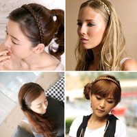 New Fashion Korean jewelry braided hair braids hair bands headband hair jewelry #L10114