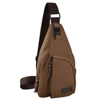 2013 outdoor one shoulder messenger bag vintage casual bag small bags trend canvas chest pack