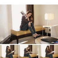 Hot-selling 2014 worn slim elastic pencil skinny jeans g60