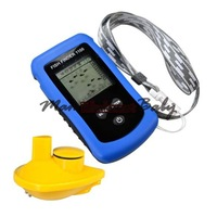 free shipping Best Portable Sonar Fish finder Alarm Fish Finder Wireless With Simulation Mode 2549