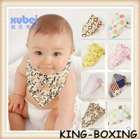 Free shipping!hot sale Baby bib 5pcs/lot cotton Baby bibs Infant embroidered saliva towels Feeding Burp Cloths cotton100%